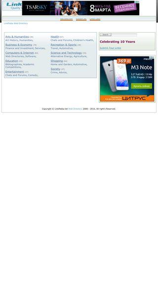 Mobile preview of linkpedia.net