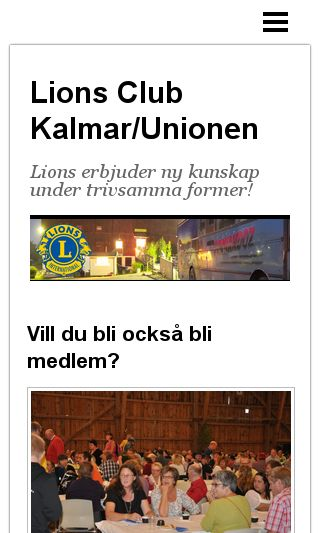Mobile preview of lions-kalmarunionen.se