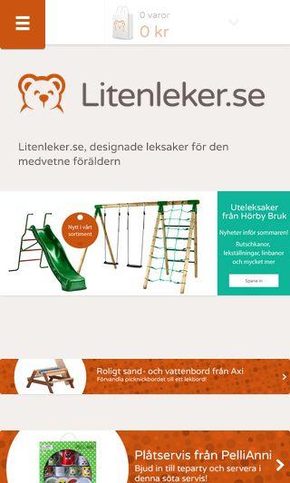 Mobile preview of litenleker.se