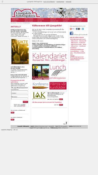 Mobile preview of ljungskile.fhsk.se