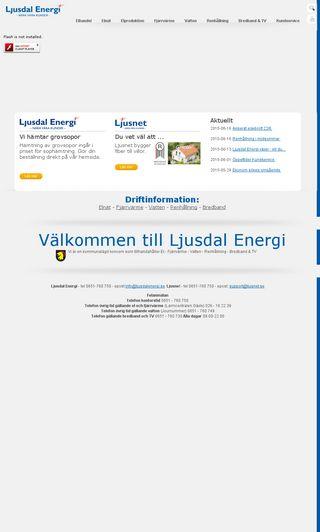 Mobile preview of ljusdalenergi.se