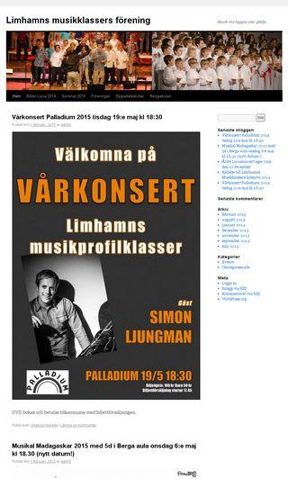 Mobile preview of lmkf.se