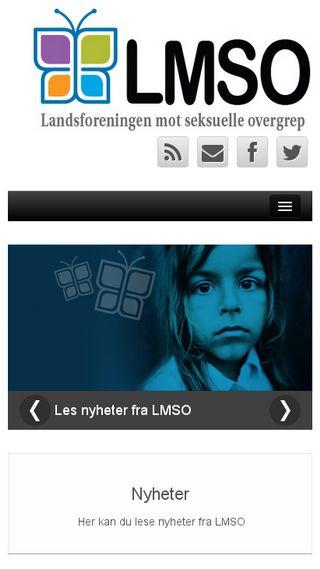 Mobile preview of lmso.no