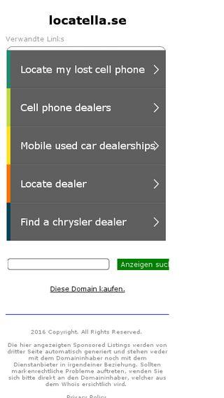 Mobile preview of locatella.se
