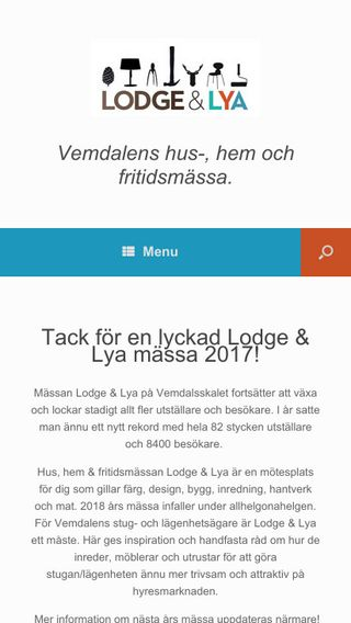 Mobile preview of lodgelya.se