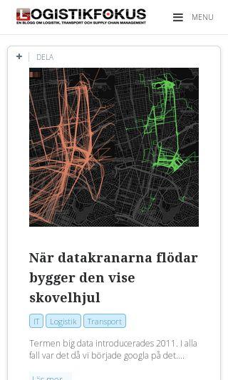 Mobile preview of logistikfokus.se