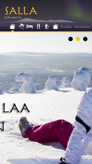 Mobile preview of loma.salla.fi