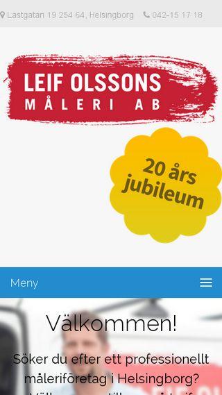 Mobile preview of lomaleri.se