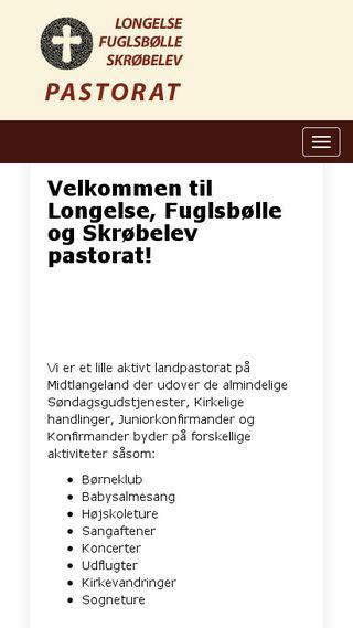 Mobile preview of longelsekirke.dk
