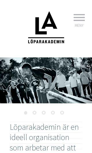 Mobile preview of loparakademin.se