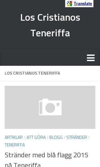 Mobile preview of loscristianos.nu