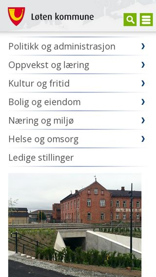 Mobile preview of loten.kommune.no