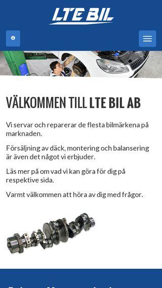 Mobile preview of ltebil.se