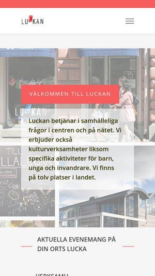 Mobile preview of luckan.fi