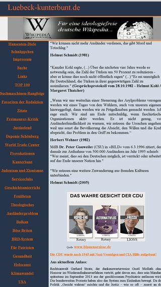 Mobile preview of luebeck-kunterbunt.de