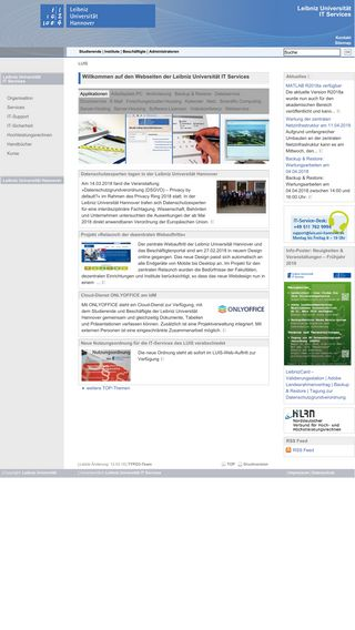 Mobile preview of luis.uni-hannover.de