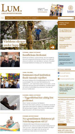 Mobile preview of rektor.blogg.lu.se