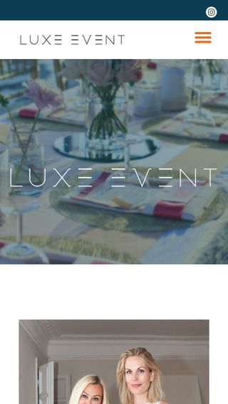 Mobile preview of luxeevent.se
