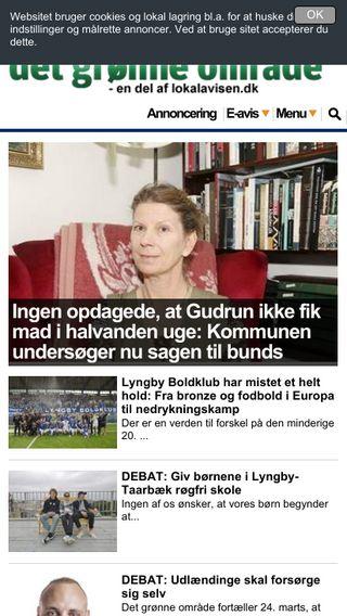 Mobile preview of bybaner.dk