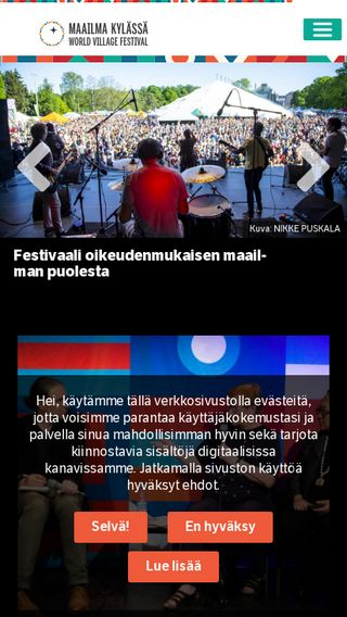 Mobile preview of maailmakylassa.fi
