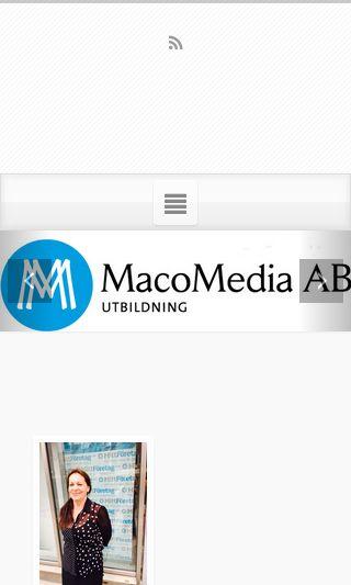 Mobile preview of macomedia.se