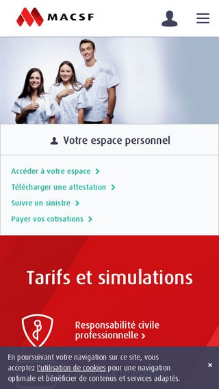 Mobile preview of osteopathe-masson.fr