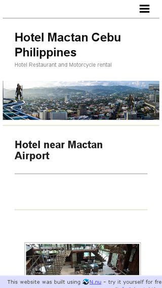 Mobile preview of mactan.n.nu