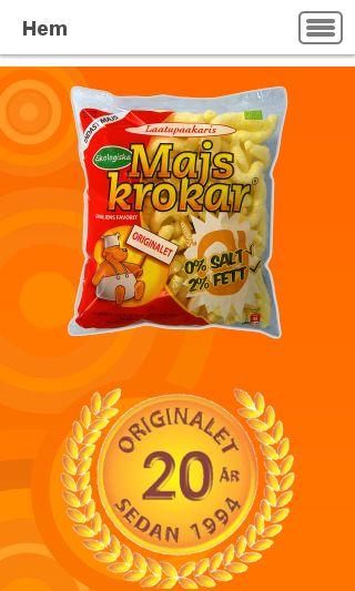 Mobile preview of majskrokar.se