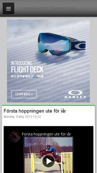 Mobile preview of makeom.blogg.se