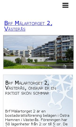 Mobile preview of malartorget2.se