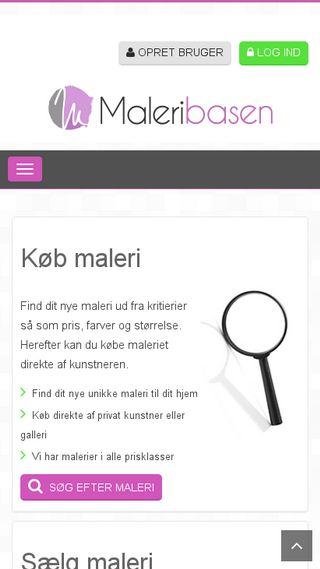 Mobile preview of maleribasen.dk