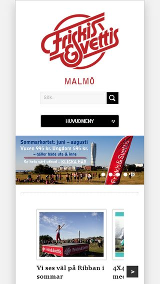 Mobile preview of malmo.friskissvettis.se
