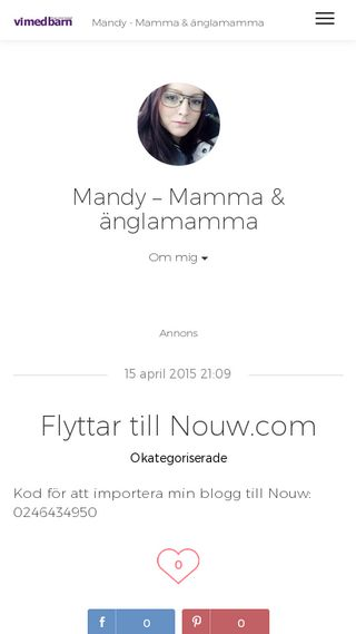Mobile preview of mandyyss.vimedbarn.se