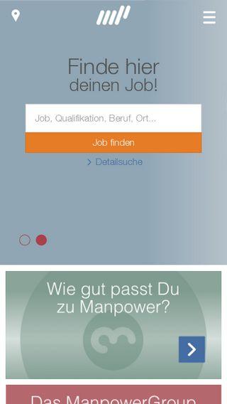 Mobile preview of manpower.de