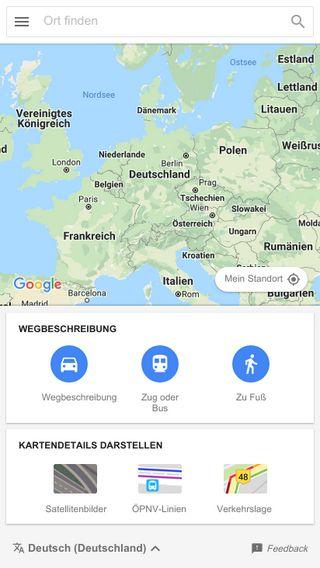 Mobile preview of maps.google.com.do