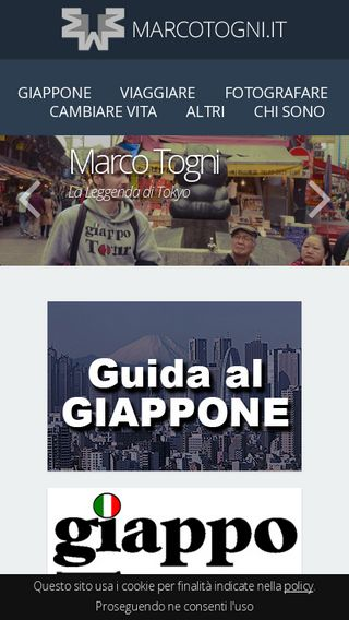 Mobile preview of marcotogni.it