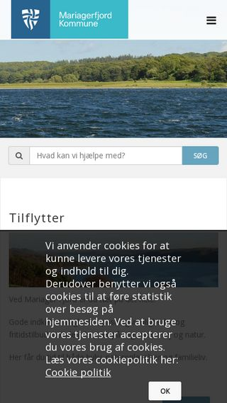 Mobile preview of mariagerfjord.dk