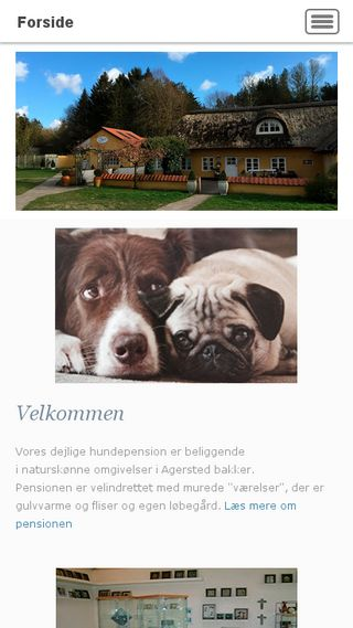 Mobile preview of mariannes-hundepension.dk