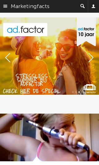 Mobile preview of marketingfacts.nl