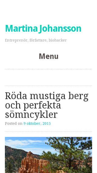 Mobile preview of saraglavin.se
