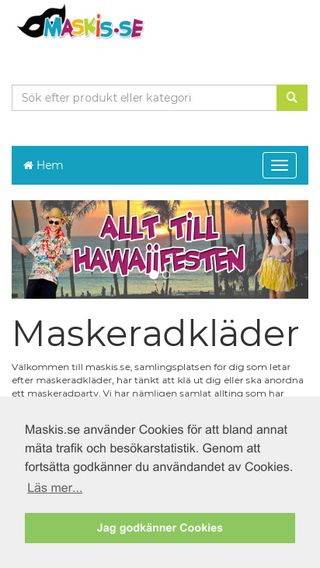 Mobile preview of maskis.se