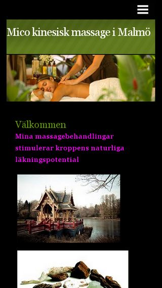 Mobile preview of massagekinesisk.n.nu