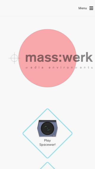 Mobile preview of masswerk.at