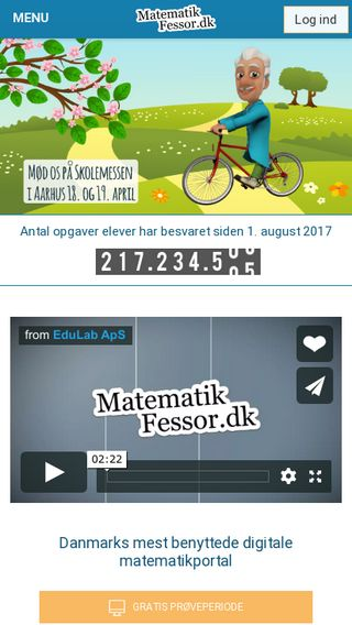 Mobile preview of matematikfessor.dk