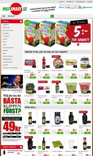 Mobile preview of matsmart.se