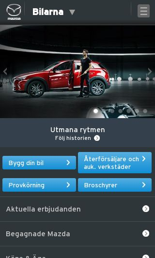 Mobile preview of mazda.se