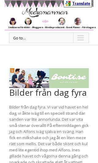 Mobile preview of mediamamman.se