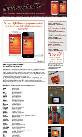 Mobile preview of mediejukeboxen.se