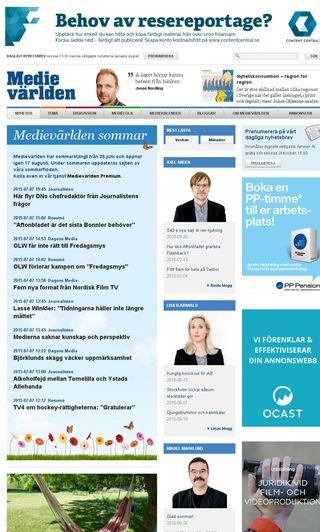 Mobile preview of medievarlden.se