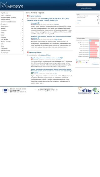 Mobile preview of medisys.newsbrief.eu